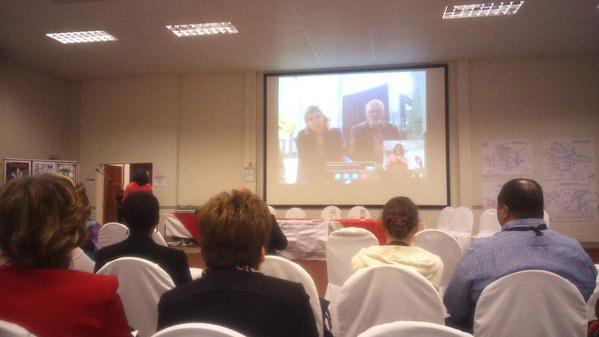 Skype to CARN conference